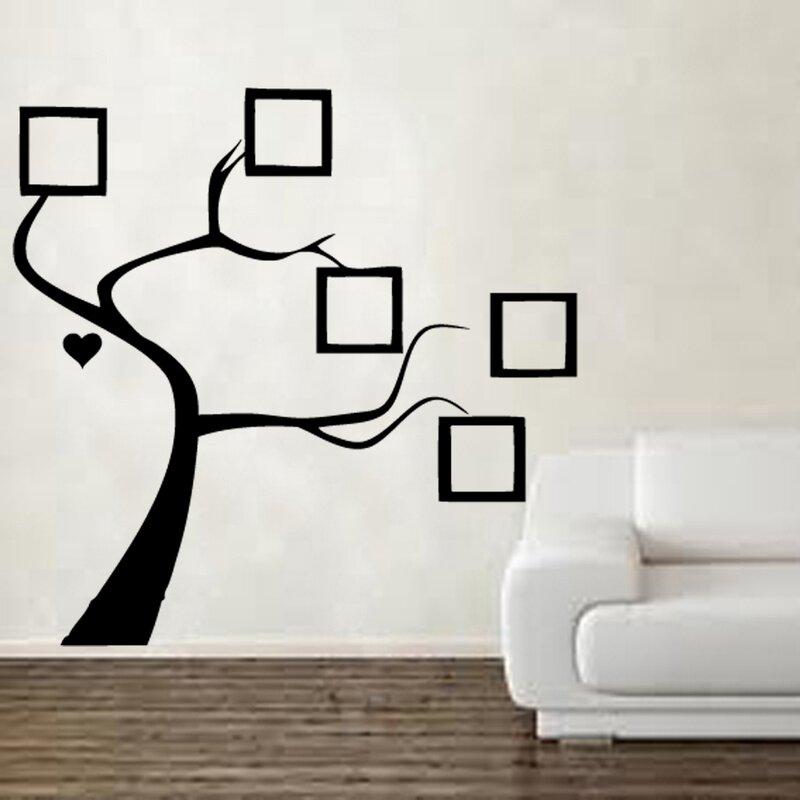 kult kanvas wandtattoo bilderrahmen baum bewertungen. Black Bedroom Furniture Sets. Home Design Ideas