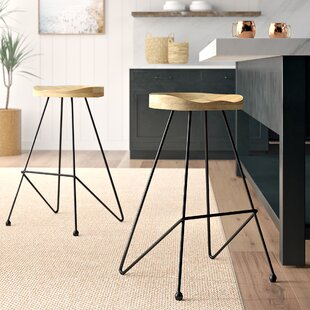 Savings Gifford 31 Bar Stool (Set of 2) by Mistana Reviews (2019) & Buyer's Guide
