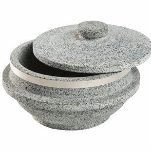 Natursten Cookware Soup Pot with Stone Lid