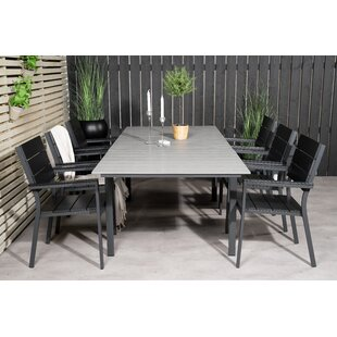 Albans 6 Seater Dining Set By Sol 72 Outdoor