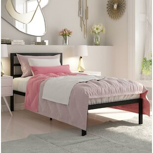 Ebern Designs Sindel Platform Bed with Mattress