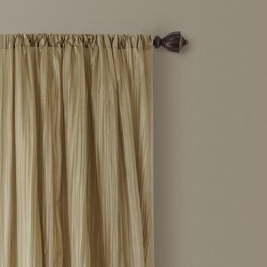Adonis Solid Semi-Sheer Rod Pocket Curtain Panels