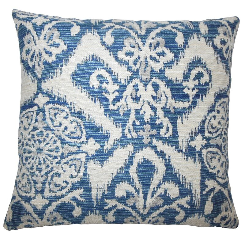 Ingalill Ikat Throw Pillow