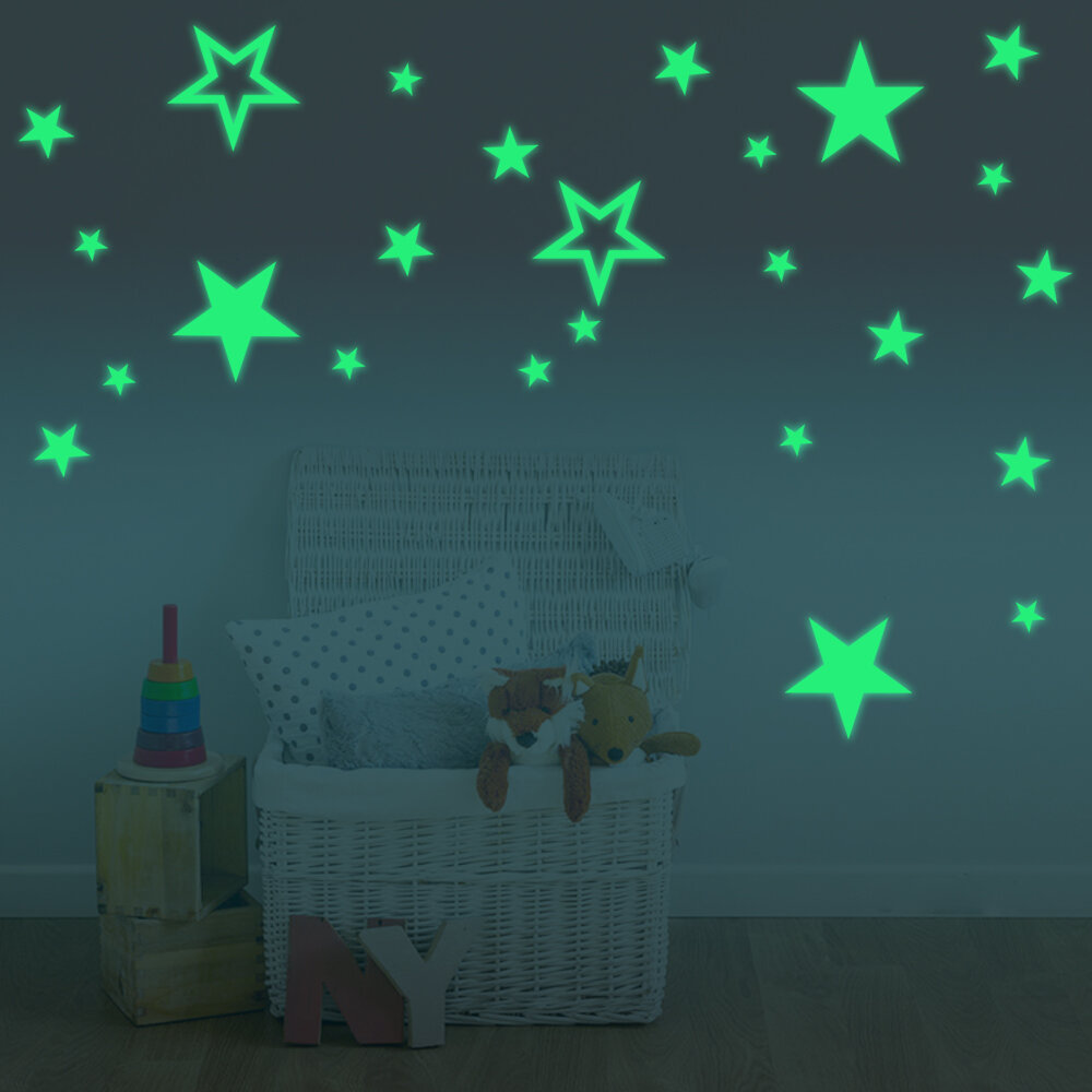 Glow In The Dark Stars Decals | Wayfair