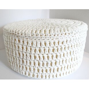 Bernice Extra Large Round Pouffe By House Of Hampton
