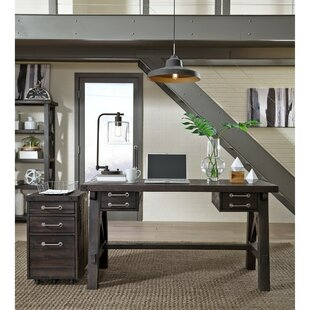 Seth Wooden 2 Piece Desk Office Suite by 17 Stories