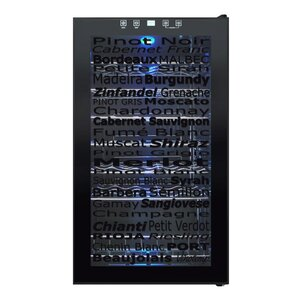 34 Bottle Single Zone Freestanding Wine Cooler by Vinotemp