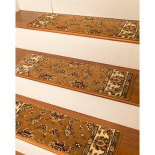 Sydney Chestnut Classic Persian Stair Tread (Set Of 13)