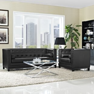 Imperial 2 Piece Living Room Set by Modway