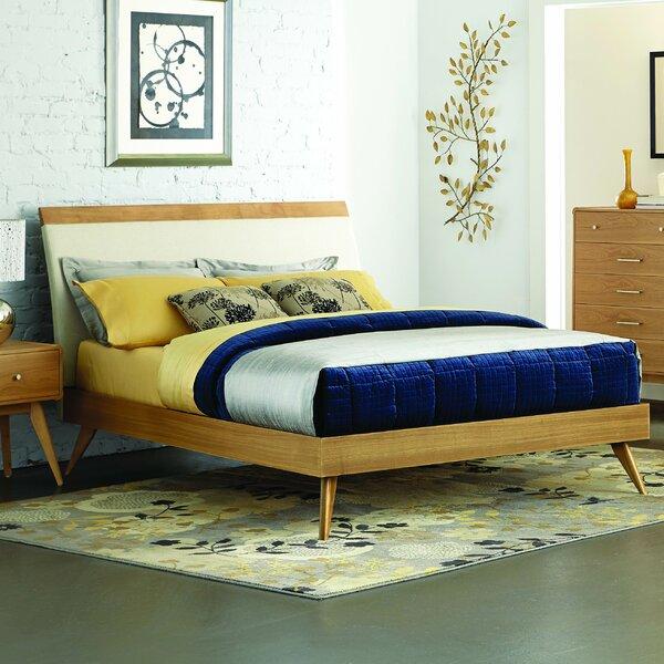 Best Mid Century Modern Beds, Modern Platform Beds, Garvey Upholstered Platform Bed