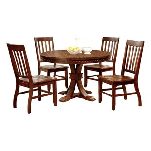 Jared 5 Piece Dining Set Hokku Designs