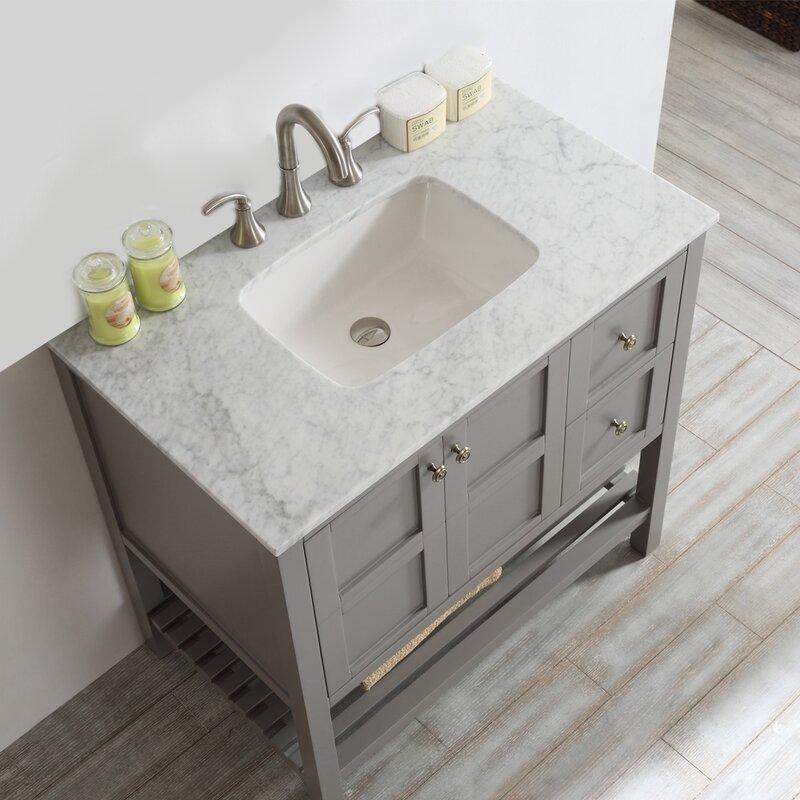 Aria 36u2033 Single Bathroom Vanity Set U2013 Beautiful Bathroom Vanity Cabinets