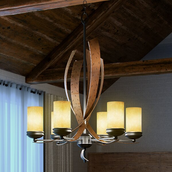 Recycled glass chandelier wayfair mozeypictures Image collections