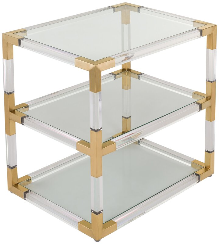 Exceptionnel Aresford Acrylic End Table
