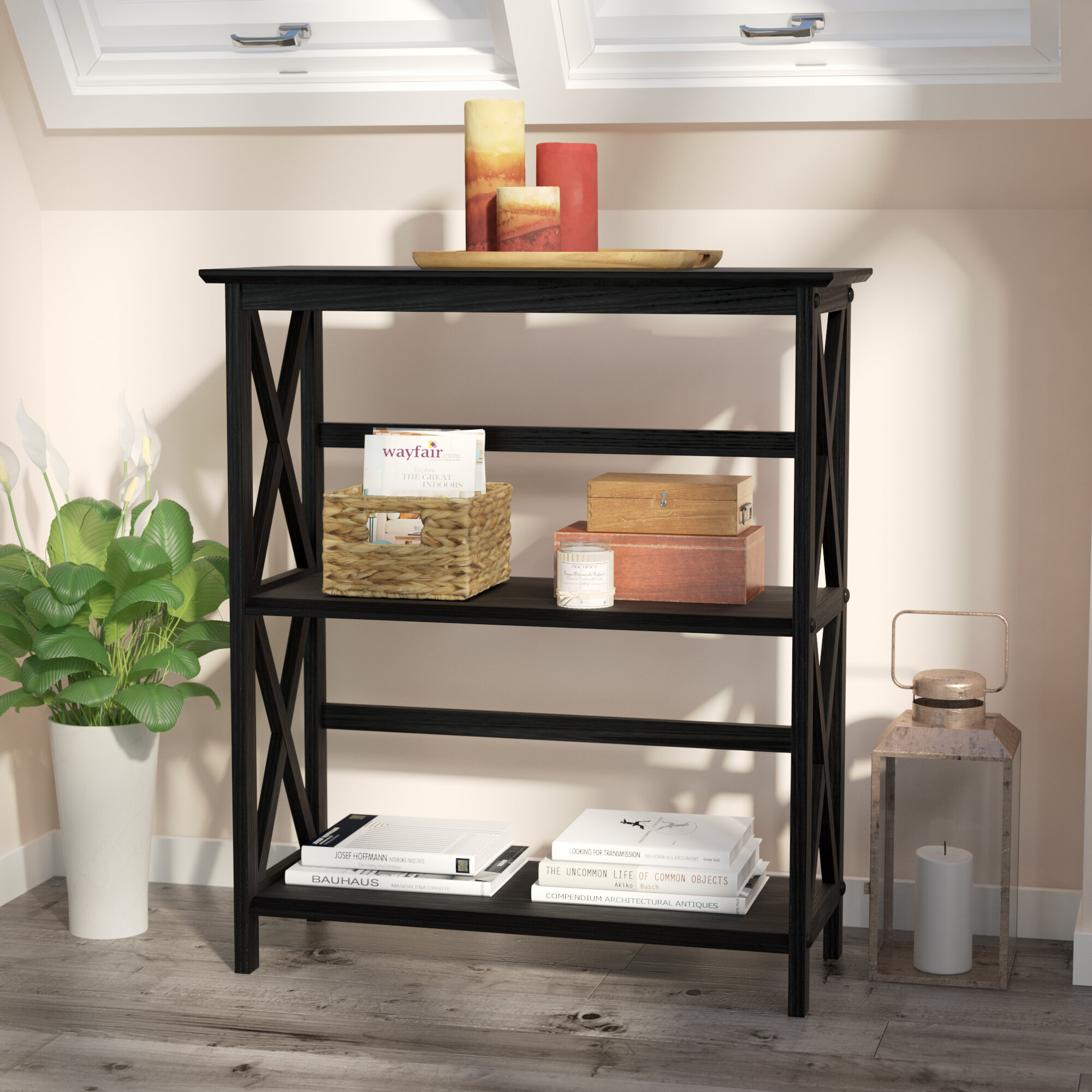 Pine Bookcases You Ll Love In 2021 Wayfair