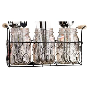 4-Piece Georgina Flatware Caddy Set