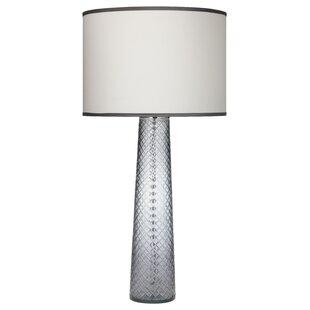 Julianna Cut Pillar 38 Table Lamp