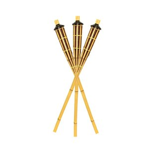 ESSENTIAL DÉCOR & BEYOND, INC Tiki Torch (Set of 3)