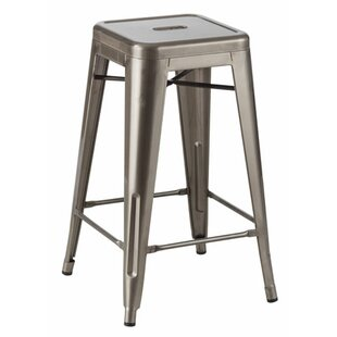 Stupendous Industrial 26 Bar Stool Customarchery Wood Chair Design Ideas Customarcherynet
