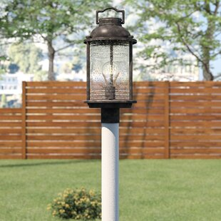 Affordable Galsworthy 1-Light Outdoor Post Light By Beachcrest Home