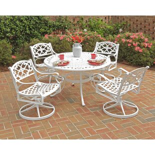 Ayleen 5 Piece Dining Table Set by August Grove