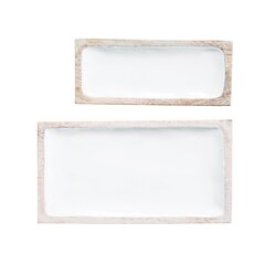 Modern Rectangle Decorative Trays Allmodern