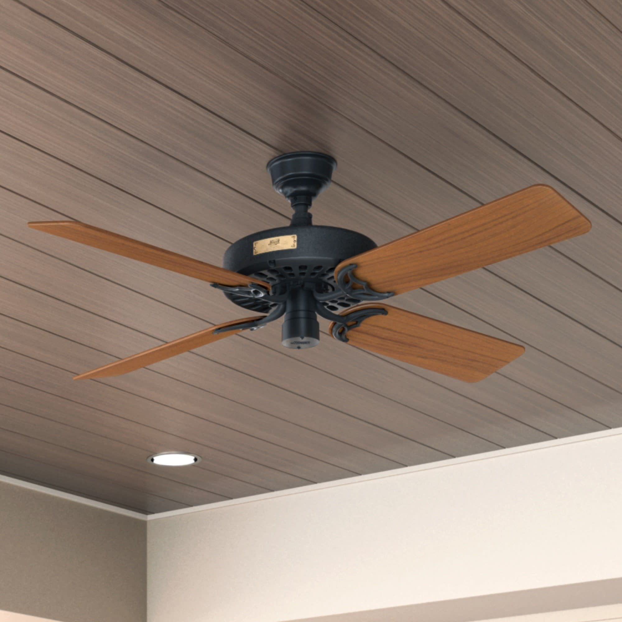 Hunter Fan 52 Original 5 Blade Standard Ceiling Fan With Pull Chain Reviews Wayfair