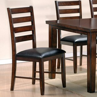 Kauai Solid Wood Dining Chair (Set of 2) Red Barrel Studio