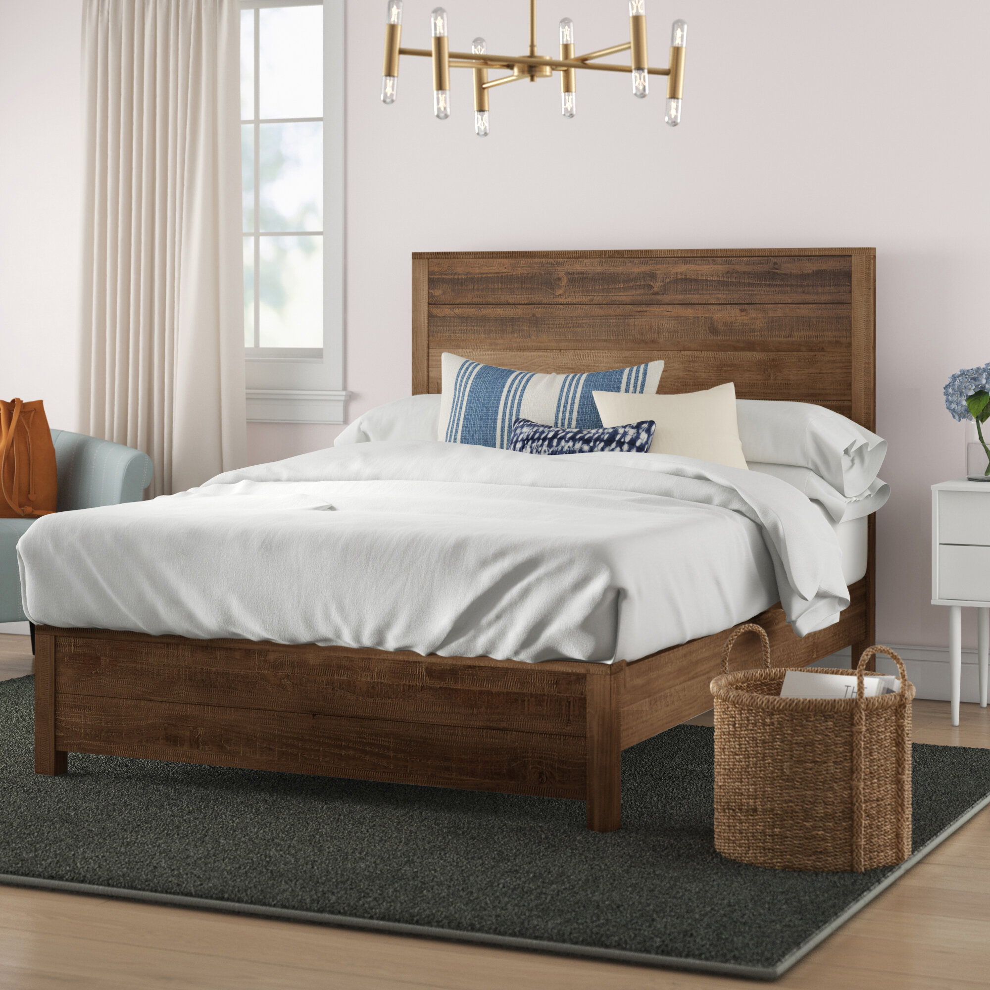 Bobbi Solid Wood Bed Reviews Joss Main