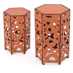 Charming Lexia 2 Piece Nesting Tables