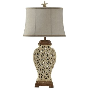 Stephaine Open Weave Starfish 36 Table Lamp