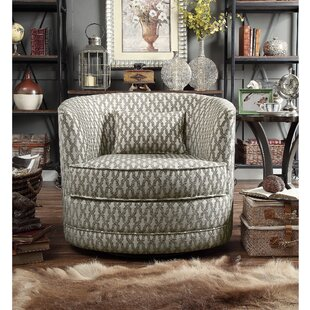 Reviews Dmitri Swivel Barrel Chair ByAlcott Hill