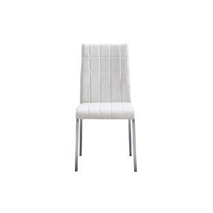 Orren Ellis Lancaster Square Tufted Upholstered Dining Chair (Set of 4)