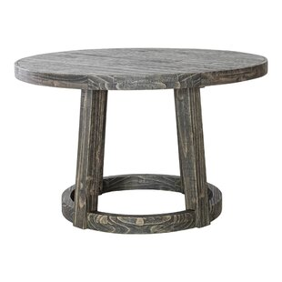 Gracie Oaks Rook Solid Wood Dining Table