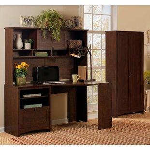 Fralick 3 Piece L-Shape Desk Office Suite
