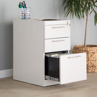 Trendway Pedestal 3-Drawer Vertical Filing Cabinet