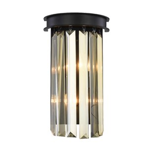 Everly Quinn Lavinia 2-Light Flush Mount