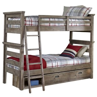 Viv + Rae Bryon Twin Over Twin Bunk Bed with Storage