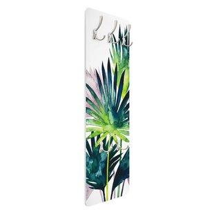 Fan Palm Wall Mounted Coat Rack By Symple Stuff