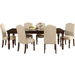 Charmant 7 Piece Dining Set