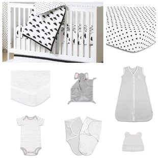 Look for Fluffy Cloud Essentials 11 Piece Crib Bedding Set By The Peanut Shell