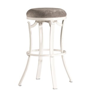Karsten Round Swivel Bar Stool by Loon Peak
