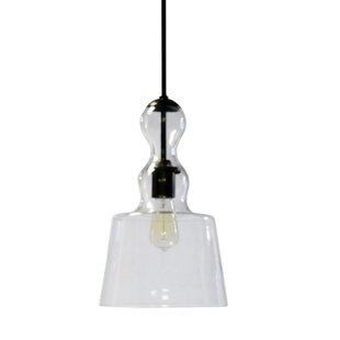 Wrought Studio Alaia 1-Light Bell Pendant