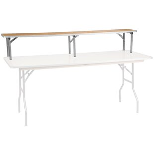Brandl Birchwood Bar Top Riser Ebern Designs