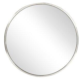 40 inch round mirror white round wall round wall mirror modern contemporary 40 inch allmodern