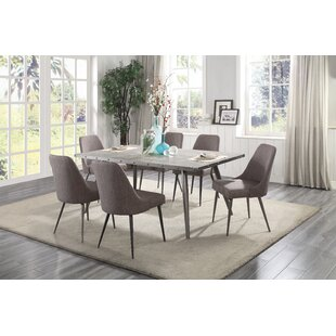 Sunray 7 Piece Dining Set Everly Quinn
