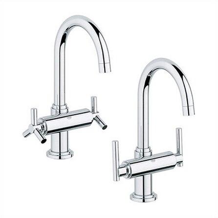 Grohe Atrio Single Hole Bathroom Faucet, Less Handles & Reviews ...