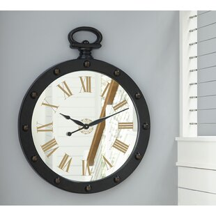 Oversized 28 Round Wall Clock by 17 Stories
