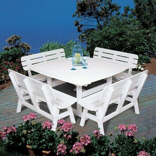 Seaside Casual Portsmouth Square Dining Table
