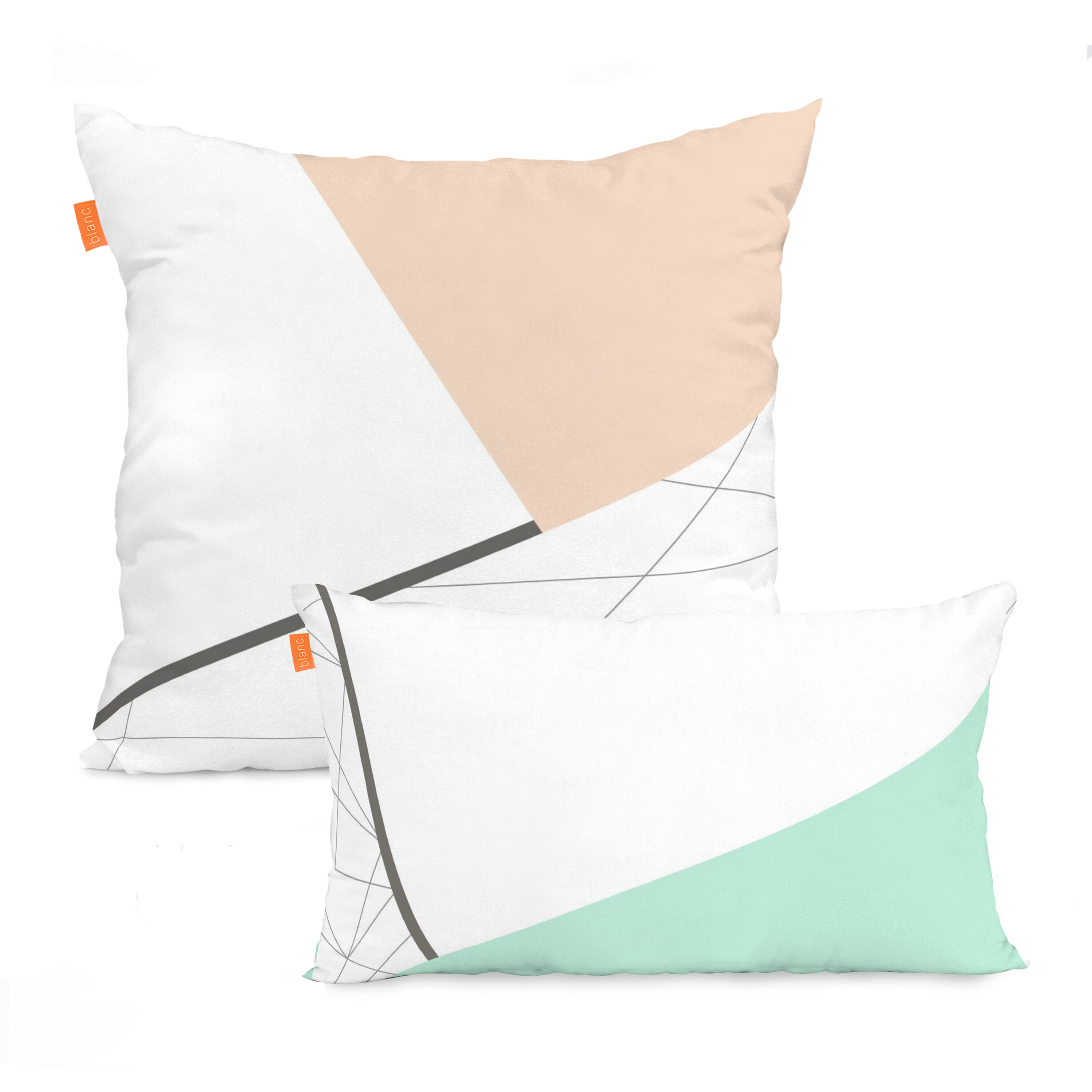 Mikado Living 2 Piece Alviso Cotton Cushion Cover Wayfair Co Uk